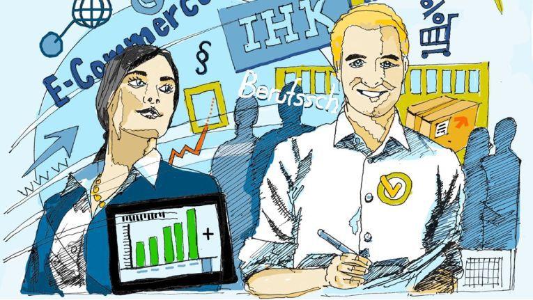 Eine Gemeinschaftsinitiative will bei der Umsetzung der neuen E-Commerce-Ausbildung helfen
