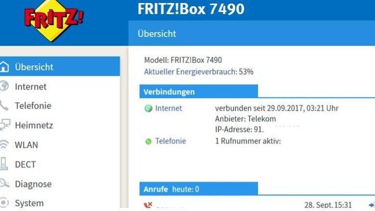 Fritzbox 7490 erhält FritzOS 6.90