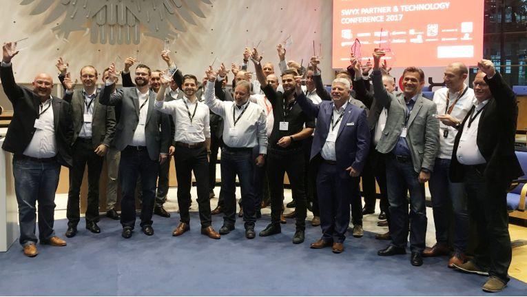Die erfolgreichsten Partner der Swyx AG 2017 wurden auf der Swyx Partner Konferenz am 27. September 2017 in Bonn prämiert.