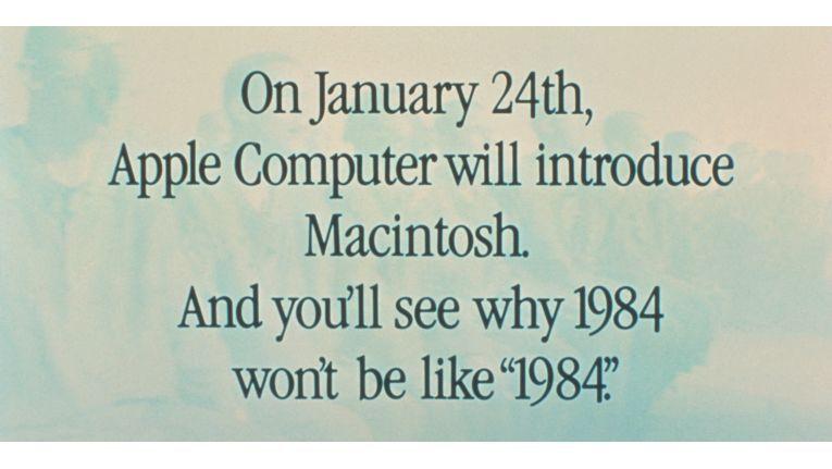 Apple wollte mit dem neuen Rechner die Herrschaft von IBM brechen.