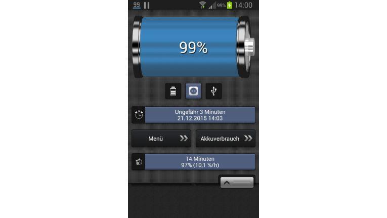 Batterie-Anzeige