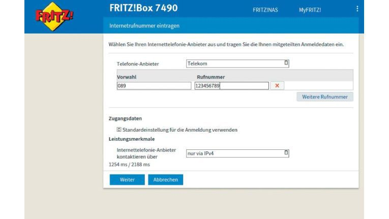 Schritt 3: Telekom-IP-Rufnummern einrichten - IP ...