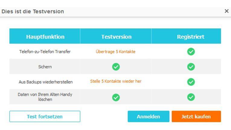 Die Drittanbieter-Anwendung verschiebt als Mittelsmann Dateien zwischen unterschiedlichen Betriebssystemen