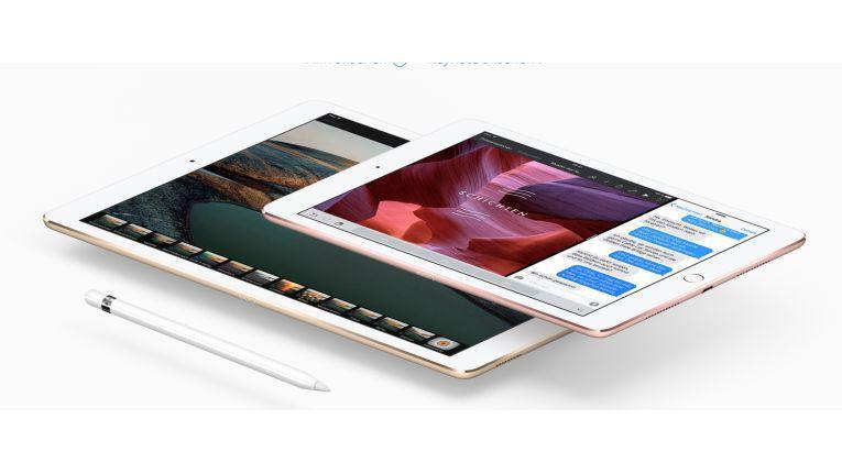 Der Launch von vier neuen iPads soll nun auf der Eröffnungsfeier des Apple Park im April stattfinden.