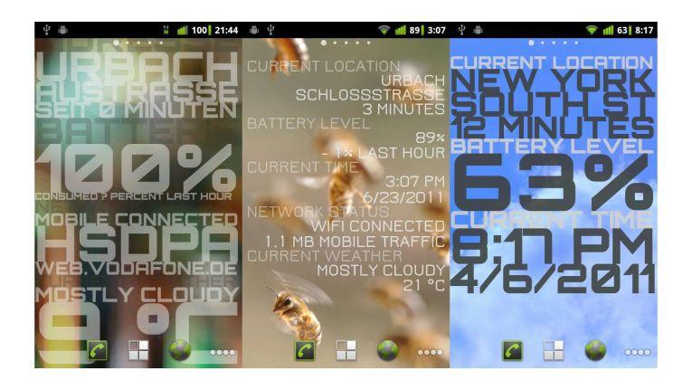 Live-Hintergründe bringen Abwechslung aufs Smartphone