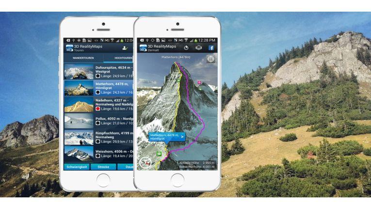 Mit Apps wie 3D Outdoor Guides machen Sie mehr aus dem Sommer.