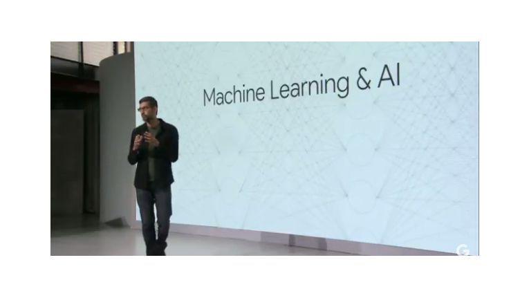 Künstliche Intelligenz steht im Zentrum des Herbst-Events von Google