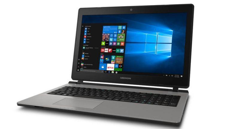 Aldi Süd verkauft mit dem Medion Akoya E6432 ein Windows-Notebook für 499 Euro mit 128 GB SSD und 1 TB HDD