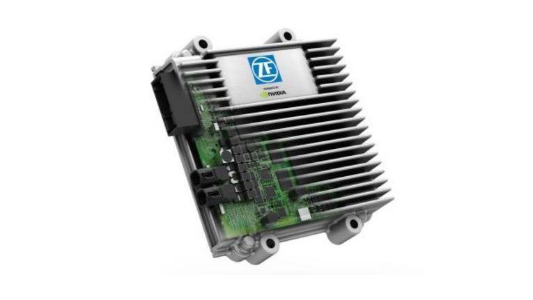 Der ZF ProAI. Mit ZF ProAI bringen ZF und NVIDIA künstliche Intelligenz in die Mobilitätsbranche