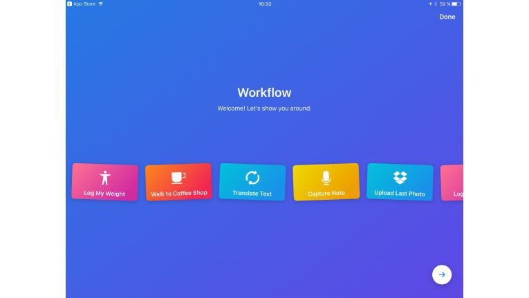 Workflow macht die Arbeit am iPad leicht