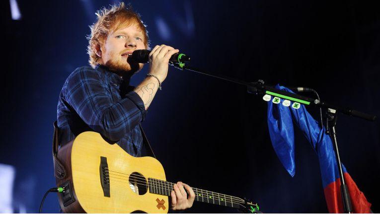 """Ed Sheeran: Sein Album """"÷"""" ist das meistgestreamte Album des Jahres 2017."""