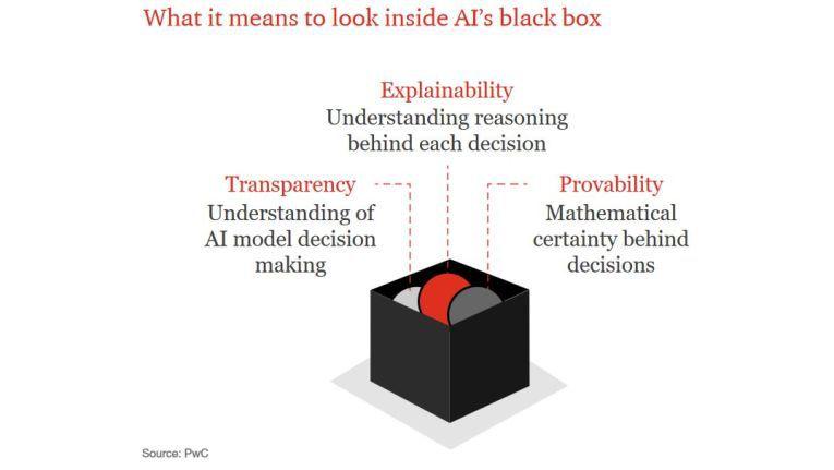 """Eine neu entstehende Bewegung fordert den verantwortungsbewussten Umgang mit KI und wird in die """"Black Box"""" sehen wollen, erwartet PwC."""