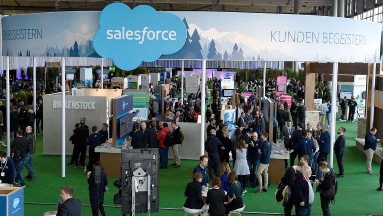 Salesforce wird die größte Ausstellungsfläche auf der Cebit einnehmen.