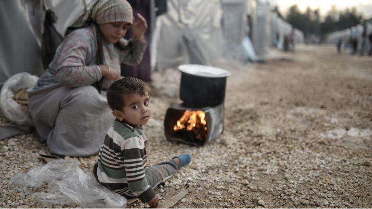 Syrische Flüchtlinge: Eine neue Software soll dabei unterstützen, Menschenrechtsverstöße zu erkennen.
