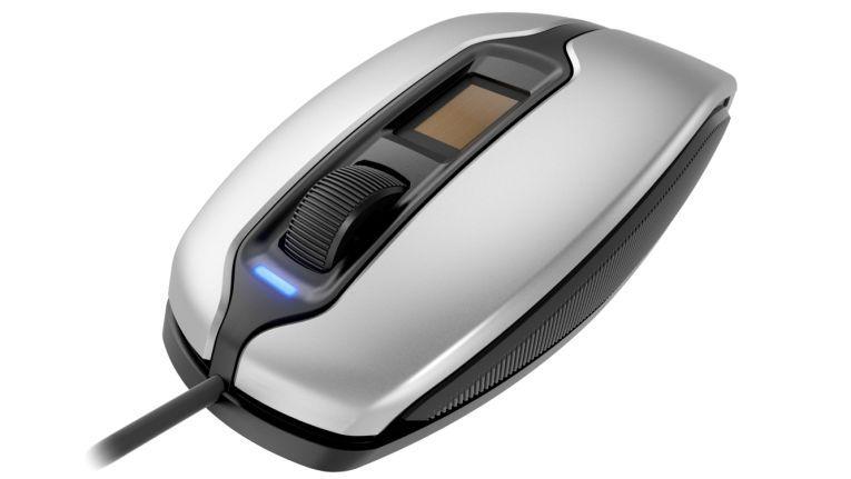 Mit der Fingertip-ID-Maus MC 4900 von Cherry kann die Authentifizierung per Fingerabdruck am PC einfach nachgerüstet werden.