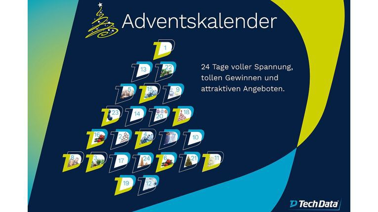 Der mit 24 Überraschungen, Sonderpreisen und Gewinnen gespickte digitale Adventskalender bietet täglich etwas Neues, verspricht die Münchener Tech Data.