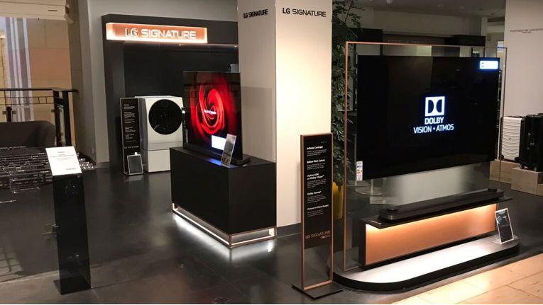 Breits seit September betreibt LG im Berliner Luxuskaufhaus KaDeWe ein Shop-In-Shop-Konzept für LG Signature.