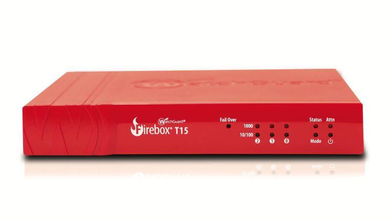 Einsteigermodell: Die neue UTM-Appliance T15 von WatchGuard