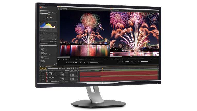 Nicht jeder Monitor eignet sich für jeden Zweck. Der 328P6AUBREB von Philips wurde speziell für professionelle Grafikanwendungen entwickelt.