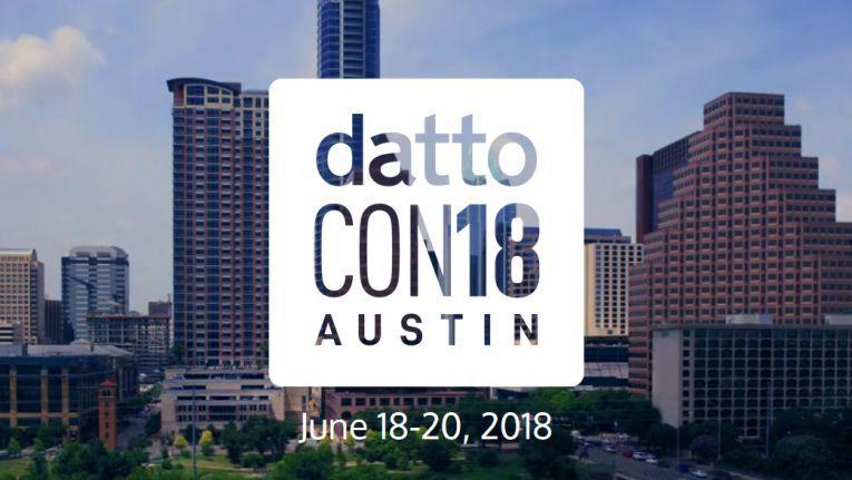 Die DattoCon findet in diesem Jahr in Austin, Texas, statt.