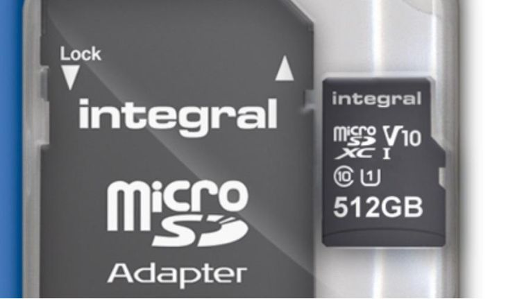 Integral Memory bringt 512-GB-MicroSD auf den Markt