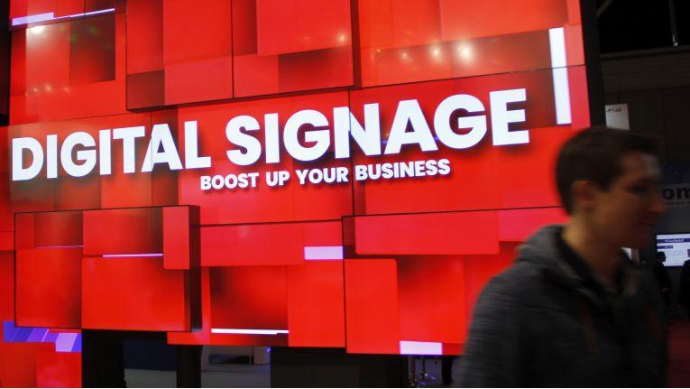 Digital Signage ist das allgegenwärtige Thema auf der Integrated Systems rope (ISE) in Amsterdam.