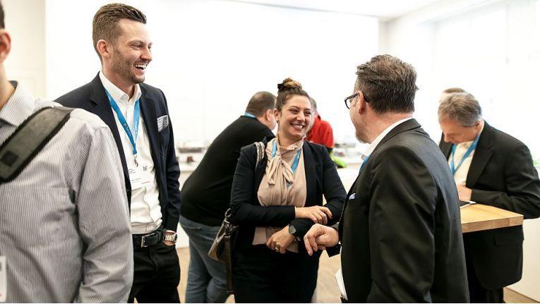 Kim-Dajana Bilogrevic, Marketingleiterin bei der Netgo Unternehmensgruppe, kann mit ihrer gewinnenden Art viele Mitarbeiter für Netgo begeistern.