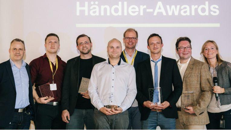 Die Preisträger der ersten von Ebay verliehenen Händler-Awards