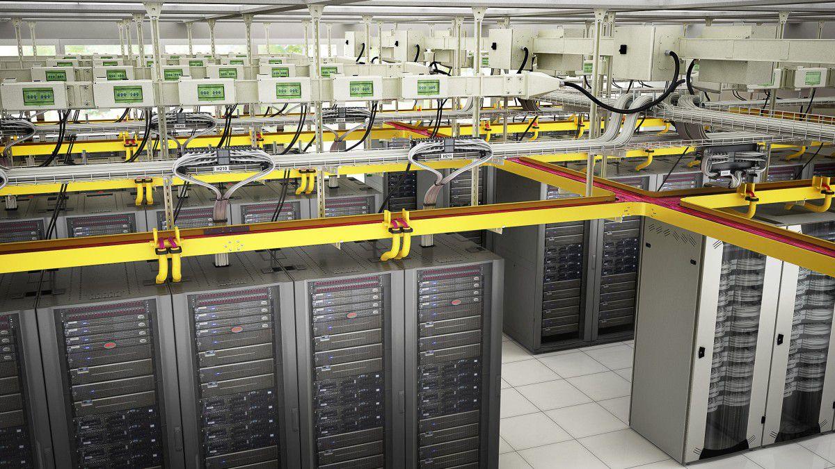 Datacenter: Neues Kabelrinnensystem von Schneider Electric ...