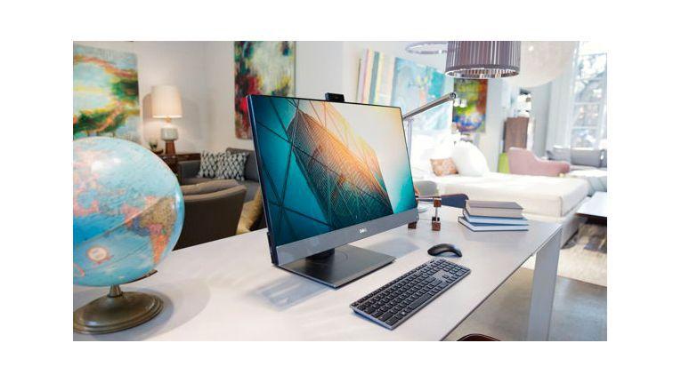OptiPlex 7760 AIO: Mit bis zu 27 Zoll großem Monitor.