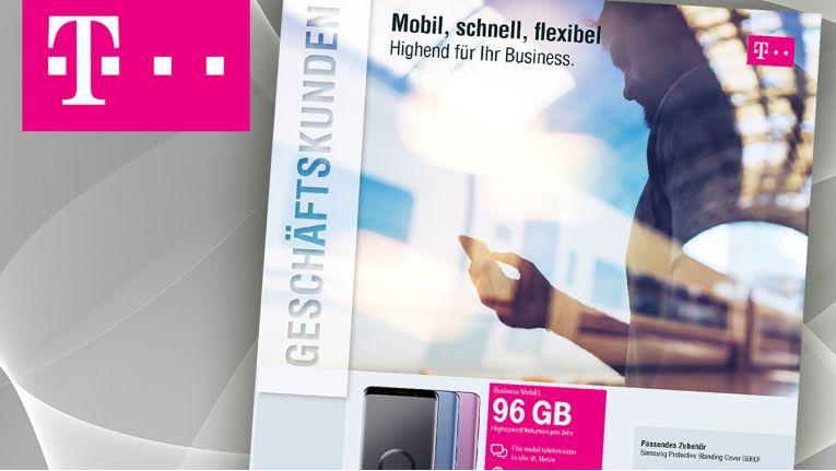 ENO hat einen neuen Telekom-Geschäftskundenflyer als Unterstützung für den Vertrieb des Handels entworfen.
