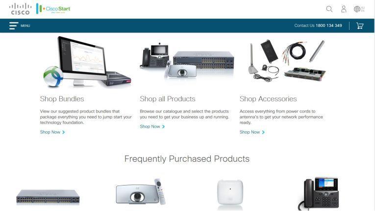 Der für KMU gedachte Online-Shop Cisco Start ist als Pilotprojekt zunächst in Australien und einigen Ländern in Südostasien verfügbar.