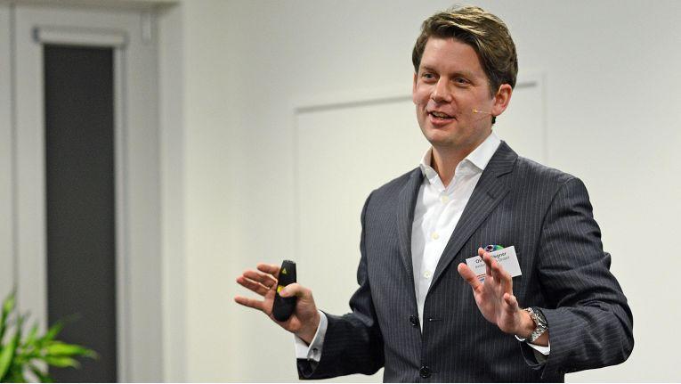 Oliver Wegner (evolutionsplan) ist ein begnadeter Keynote-Speaker.