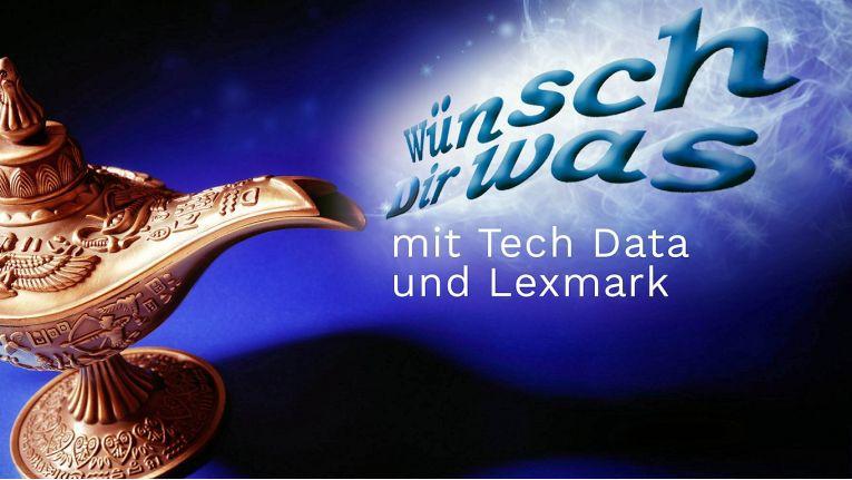 Tech Data verspricht Kunden im Rahmen der Lexmark-Kampagne die Chance auf Gutscheine, die jeden Wunsch erfüllen.