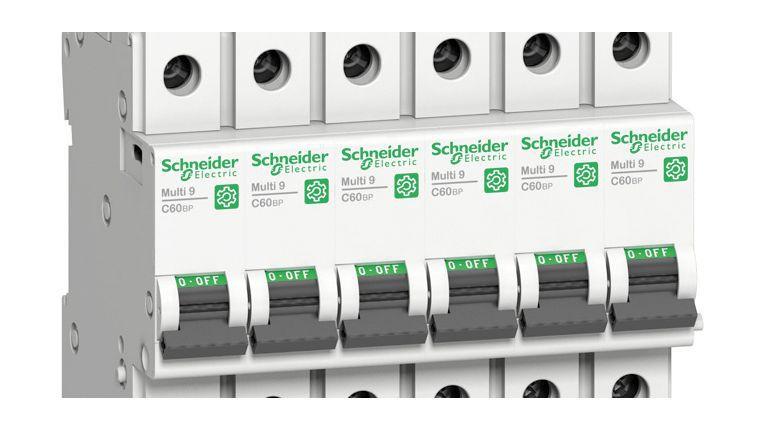Mehr Leistung bei geringerem Platzbedarf: Moderne Leitungsschutzschalter von Schneider Electric