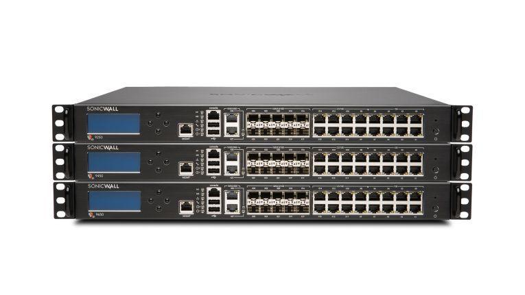 Sonicwall Next-Generation Firewalls: die Modelle NSa 9250, 9450 und 9650.