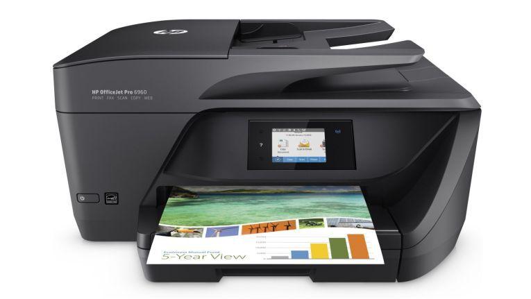 Einer der über die neu entdeckten Sicherheitslücken angreifbaren Drucker ist auch der HP OfficeJet Pro 6960.
