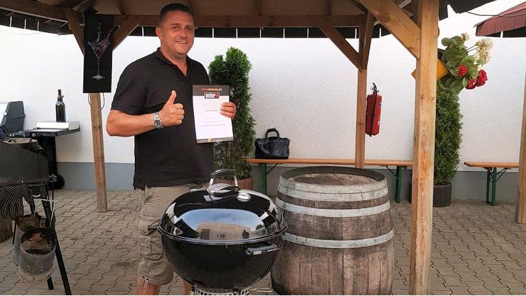 Mike Welk, von der W+W Communications UG aus Bad Windsheim, ging mit seinem Projekt als Sieger hervor.