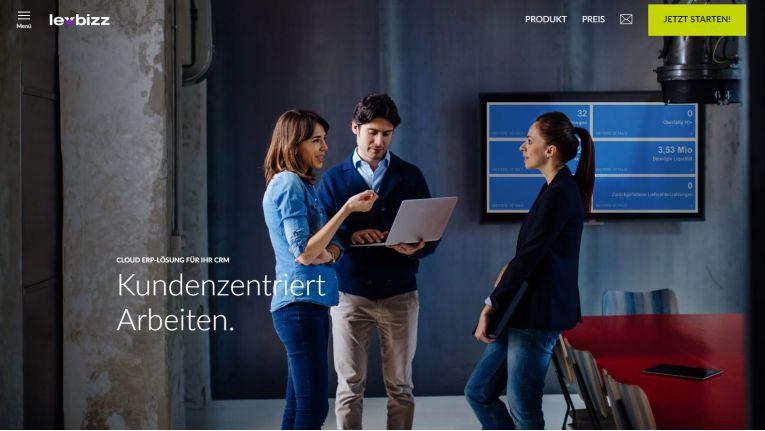 lexbizz wurde als Lösung für kleine und mittelständische Unternehmen entwickelt.