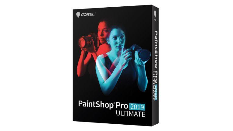 Die neue Verpackung für PaintShop Pro 2019.