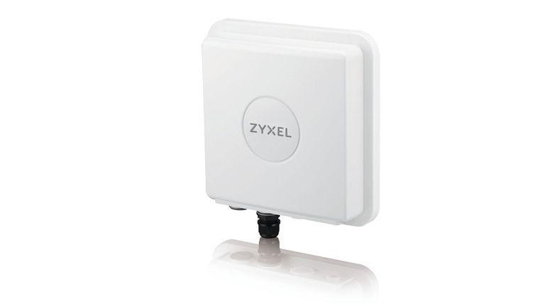 """Mit dem 4G LTE-Router """"LTE7460"""" verspricht Zyxel überall dort professionelle Internetanbindung, wo kein DSL mehr vorhanden und die nächste mobile Basisstation weit entfernt ist."""