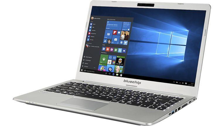 Das Ultrabook Bluechip Travelline U14W8 kann zusätzlich zu den reichlich vorhandenen Anschlüssen auch mit einem LTE-Modul ausgerüstet werden.