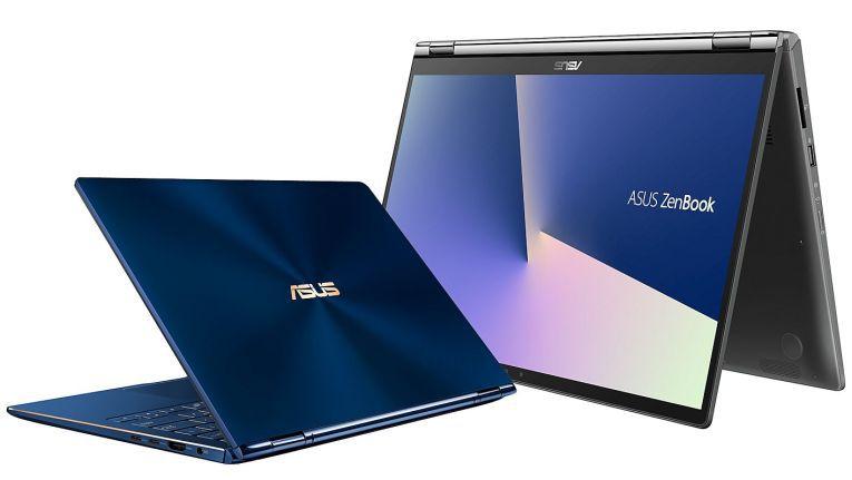 Das ZenBook Flip von Asus kann im Notebook- Tablet-, Stand- oder Tent-Modus sowie in jeder anderen Position verwendet werden.