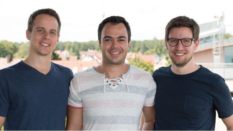 Die drei Steuerbot-Gründer (v.l.n.r.): Marc Neumann, Waldemar Wunder und Jochen Schöllig.