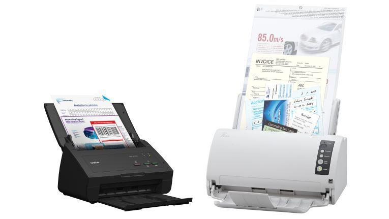 """Brother oder Fujitsu/PFU? Welcher Dokumentenscanner-Hersteller die Nase vorn hat, können Reseller auf dem Systemhauskongress """"CHANCEN"""" in Düsseldorf vom 27. bis 28. September 2018 mitentscheiden."""
