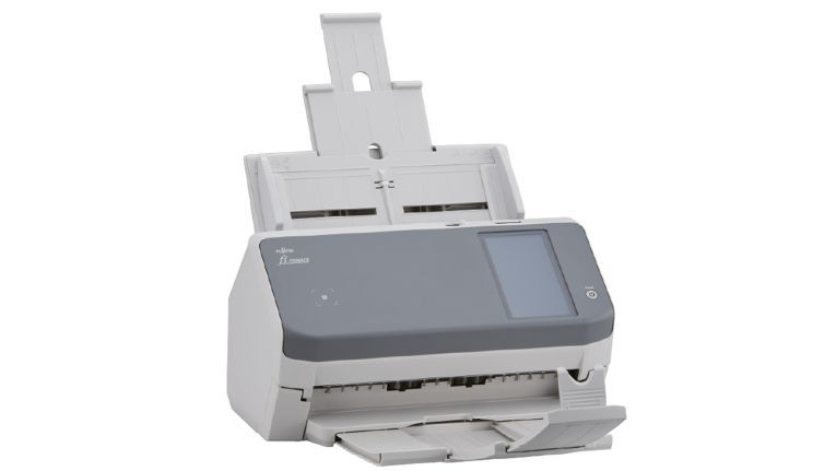 Neustes Mitglied der Fujitsu/PFU-Scanner-Familie ist der netzwerkfähige Dokumentenscanner fi-7300NX.