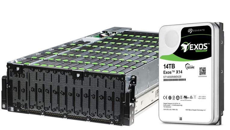 Die neue Exos X14 und das modulare Enterprise-System E 4U106 erlauben Kapazitäten von bis zu 1,4 Petabyte in Hyperscale-Umgebungen.