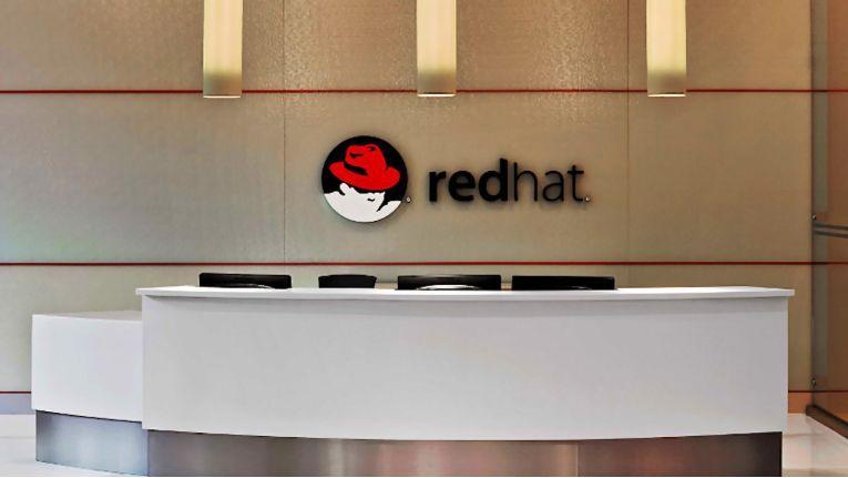Distributor Tech Data bietet Lösungen und Workshops zum Thema Red Hat OpenShift auf Microsoft Azure an. Das Foto zeigt den Empfang am Hauptsitz von Red Hat in Raleigh.