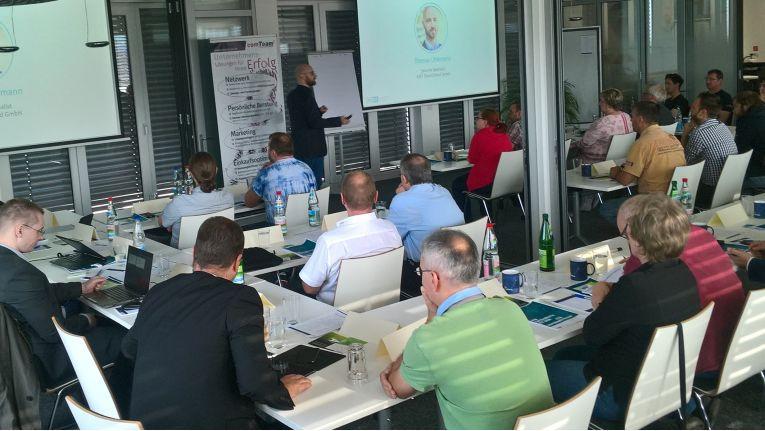Thomas Uhlemann, Security Specialist bei Eset Deutschland, bot in seinem Vortrag einen spannenden Einblick in die Vielfalt der IT-Sicherheit.