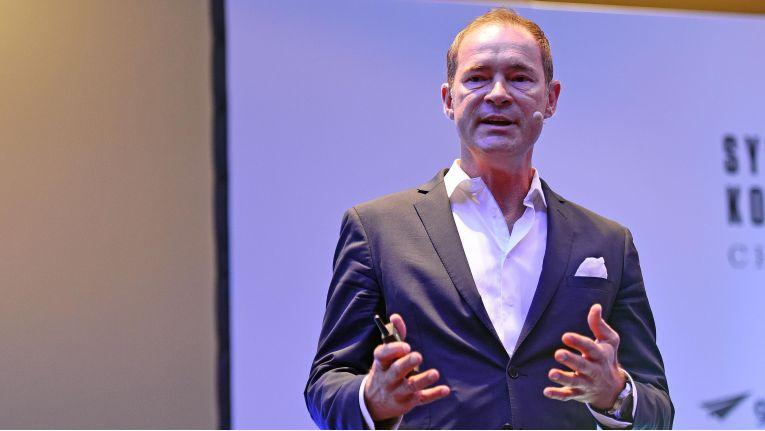 """Gregor Bieler, General Manager Partner Organisation bei Microsoft Deutschland, verkündete auf dem ChannelPartner-Systemhauskongress """"CHANCEN"""" den Start der zweiten Runde der Microsoft Cloud Academy."""